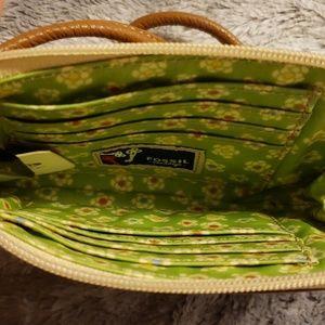 Fossil Bags - NWT Fossil wristlet Felicity II wallet bag flowers